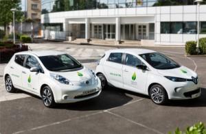 Nissan-LEAF_und_Renault-ZOE_fuer_COP21