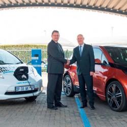 Nissan y BMW unen fuerzas para el desarrollo de la primera red de recarga rápida de África