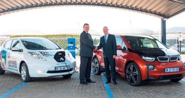 Nissan-and-BMW-electric-vehicle-charging-infrastructure-South-Africa