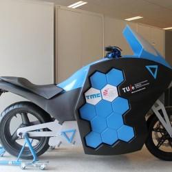 STORM Eindhoven. La vuelta al mundo en 80 días con una moto eléctrica
