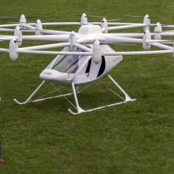 E-volo VC200 Volocopter, el primer helicóptero eléctrico biplaza