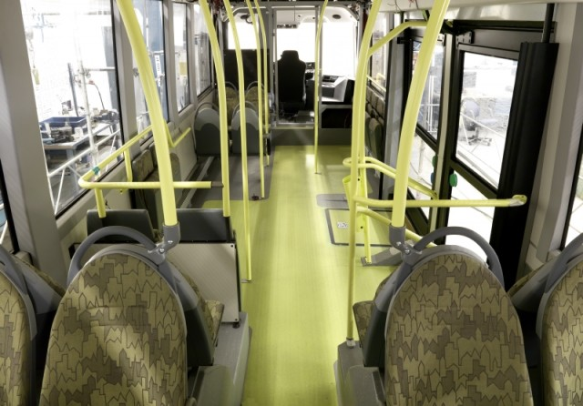 Volvo Electric Bus Interior 2015 0063