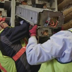 Respaldo para instalación solar con baterías recicladas de Toyota