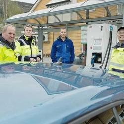ABB instala en Noruega su punto de recarga rápida número 100