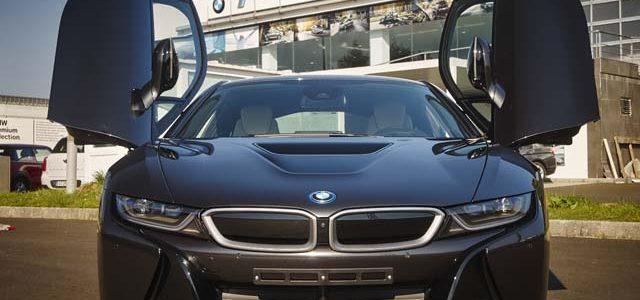 El BMW i8 también recibirá una renovación en 2018. Más potencia, más autonomía eléctrica