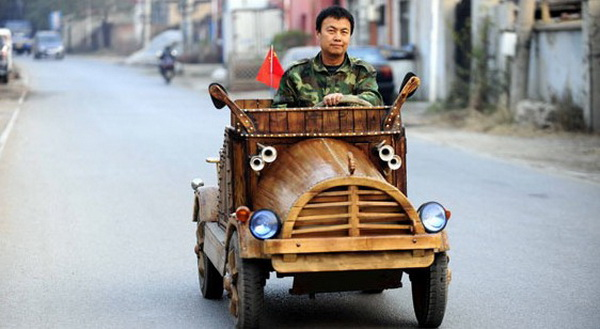 china-wooden-electric-car