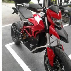 Una Ducati Hypermotard eléctrica, que ha podido convencer al fabricante italiano