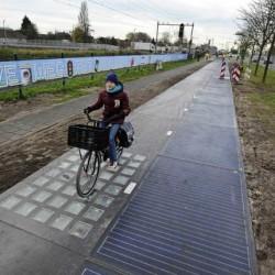 SolaRoad, la carretera solar, logra mucha más energía de lo esperado