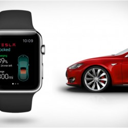 Controlando el Tesla Model S desde un Apple Watch