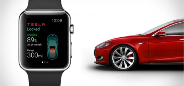 Controlando el Tesla Model S desde un Apple Watch