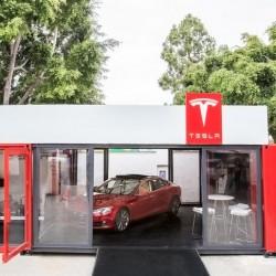 Tesla se apunta a la venta ambulante. Otra forma de promocionar su producto de una forma directa y económica