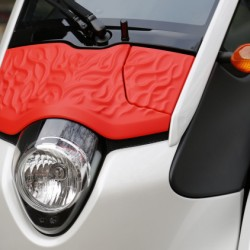 Personaliza el Toyota i-Road con una impresora 3D