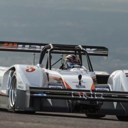 Los coches eléctricos calientan motores para Pikes Peak 2015. El eO PP03 primero y Tajima segundo