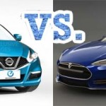 Nissan_Leaf_2_vs_Tesla_Model_III