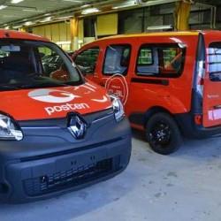 El servicio postal noruego encarga 330 furgonetas eléctricas a Renault y Nissan