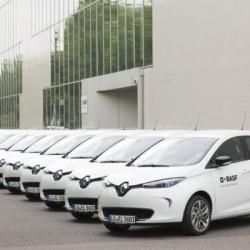 BASF añade a su flota 100 nuevos eléctricos de Renault