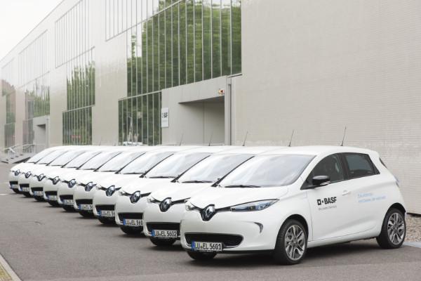 Renault-ZOE-Elektroautos-in-der-BASF-Flotte