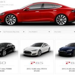 Gran acogida de los Tesla Model S de ocasión garantizados