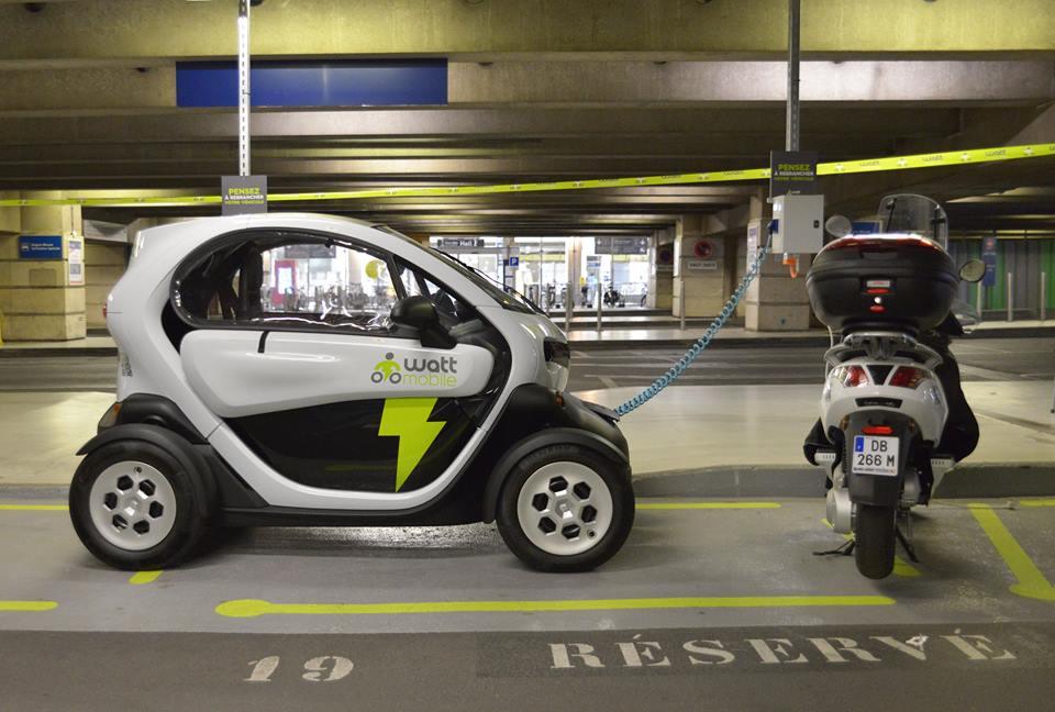Wattmobile-sharing