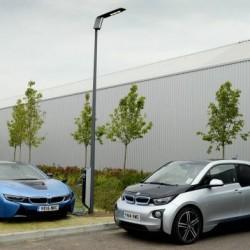 BMW quiere poner un cargador de coches eléctricos en las farolas