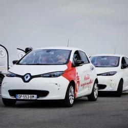 Un Tour de Francia en coches eléctricos