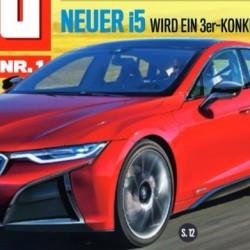¿Saldrá el BMW i5 en 2018?