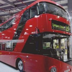 Autobuses eléctricos de dos plantas en Londres