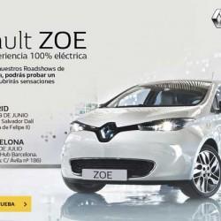 Renault Roadshow. Prueba el nuevo Renault ZOE r240 en Madrid y Barcelona