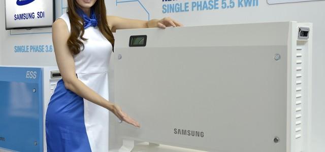 Samsung presenta su nueva batería para el hogar