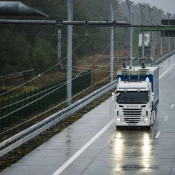 En 2016 Scania comenzará las pruebas en carretera de sus camiones eléctricos dotados de pantógrafo