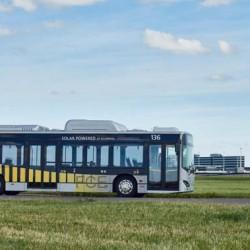 El aeropuerto de Amsterdam añade 35 autobuses eléctricos a su flota