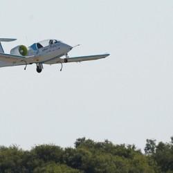 El primer avión eléctrico que cruza el Canal de la Mancha
