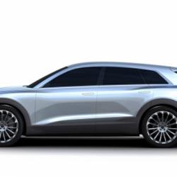 El Audi Q6 e-Tron será presentado en el Salón de Frankfurt. Nuevas imágenes
