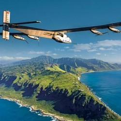 El Solar Impulse logra lo imposible. Cruza el Pacífico y establece nuevo récord de vuelo contínuo