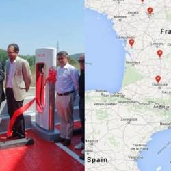 Tesla inaugura de forma oficial su primer Supercargador en España. Hablan del futuro despliegue en nuestro país