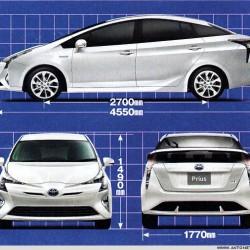 El nuevo Toyota Prius enchufable podría tener 50 kilómetros de autonomía eléctrica
