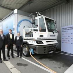 BMW pone en marcha un camión eléctrico de 40 toneladas para el transporte de piezas