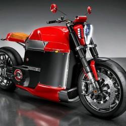 Tesla Model M, la imaginaria moto de Tesla