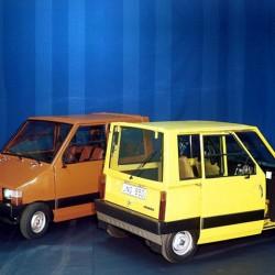 Un poco de historia. Volvo electric car 1977