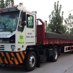 El puerto de Shanghái prueba camiones híbridos enchufables de gran tonelaje