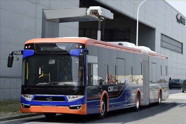 Ningbo-electric-bus