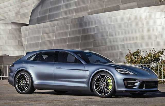 Electric Porsche Pajun