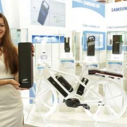 Samsung presenta una bicicleta eléctrica con 100 kilómetros de autonomía. Muestra también las nuevas celdas 21700