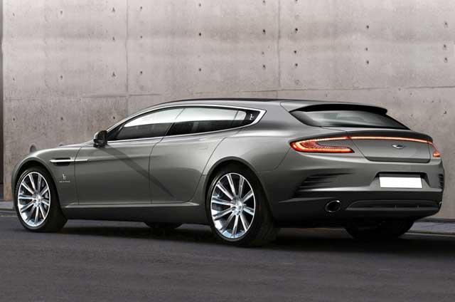 Prototipo del Aston Martin Rapide de Bertone