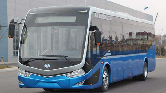 Autobus electrico de aluminio