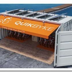 QuikByke. Alquiler de bicicletas eléctricas impulsadas por energía solar