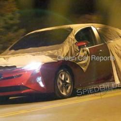 Pillado el nuevo Toyota Prius sin camuflaje