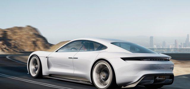 Conoce de cerca el diseño de Porsche Mission E (Vídeo)