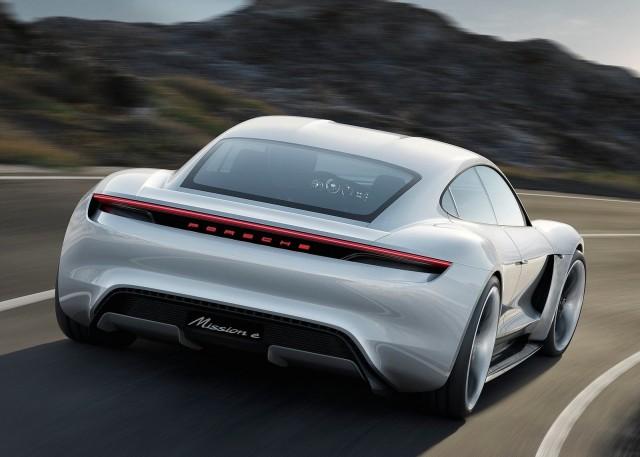 Porsche Mission E4