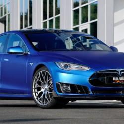El Tesla Model S Brabus se deja ver en Frankfurt